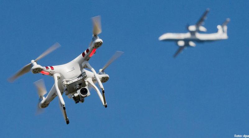 Drohne Zusammenstoss – nur eine Frage der Zeit