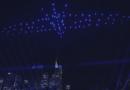 Licht-und Drohnenshow Altstadt Frankfurt