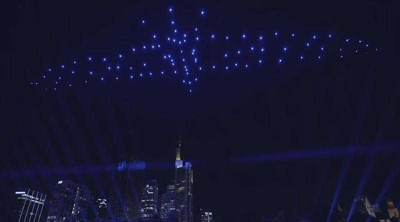 Drohnen-Show Altstadt Frankfurt